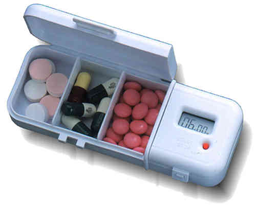 Pill Box Reminder - TabTimer TT4-3
