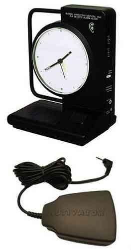 ILY Vibrating Clock with bed pillow shaker TTC-ILY