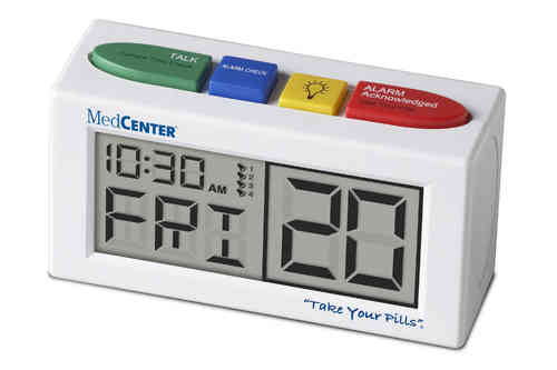 MedCenter Talking Alarm Clock – TTC-MCTALK