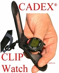 12 Alarm e-pill® CADEX® watch CLIP CARABINER Medication Reminder and ALERT (952439) - TTW-CAD-CLIP