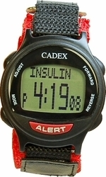12 Alarm e-pill® CADEX® PEDIATRIC / VELCRO Reminder and ALERT Watch (952437) - TTW-CAD-PEDIATRIC