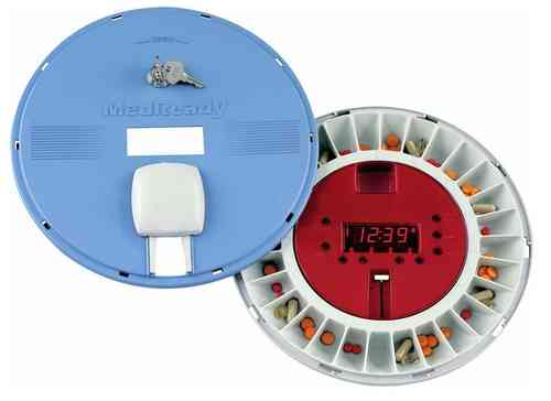 MedReady MR-357FL Auto Pill Dispenser SMS/Email Alerts & Light