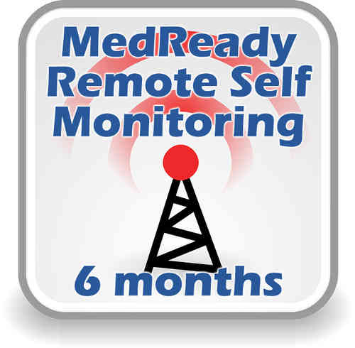 MedReady Remote Monitoring Subscription - 6 months SAVE $19.75! - MR-SUB06