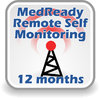 MedReady Remote Monitoring Subscription - 12 months SAVE $39.45! - MR-SUB12