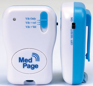 MedPage Beeping Tone & Vibrating Alert Pager Receiver - MPPL-PAGER