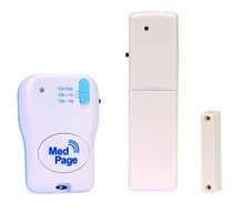 MedPage Tone & Vibrating pager with Door Kit Bundle - MPPL-DCKIT