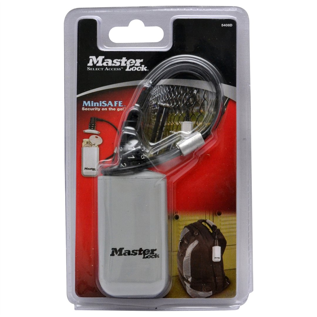 Master Lock Select Access Portable Mini Safe Ttml 5408d