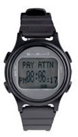 WatchMinder 3 - black - vibrating watch reminder system WM3-BK