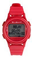 WatchMinder 3 - Red - vibrating watch reminder system WM3-RED
