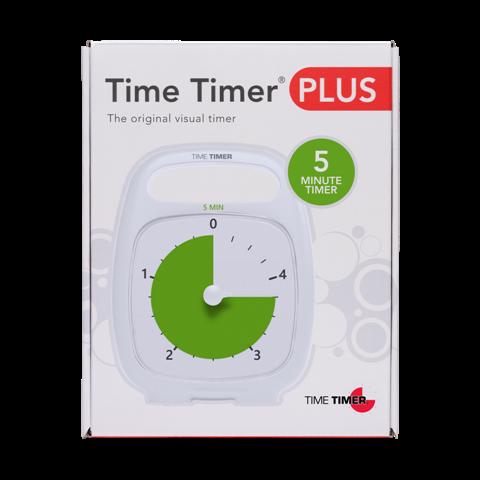 time timer plus 5 minute tt ttp05 wht