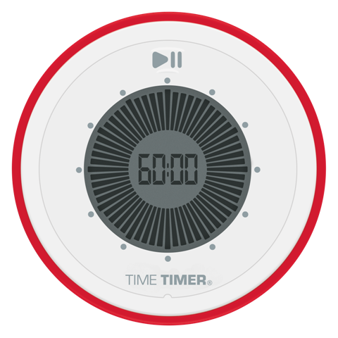 Time Timer 90-minute TWIST® - TT-TTT90 visual countdown timer