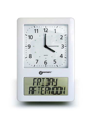 VISO 50 - Analogue dementia clock and digital orientation display