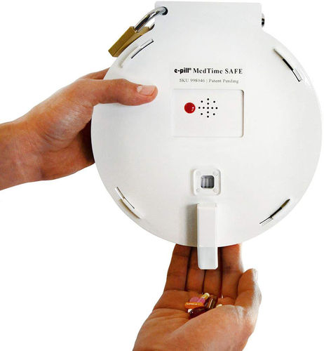 e-pill | MedTime SAFE | Tamper Resistant Automatic Pill Dispenser