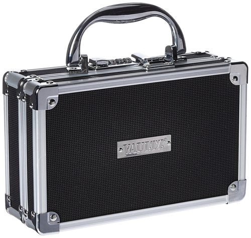 Vaultz Locking Medicine Case - Black