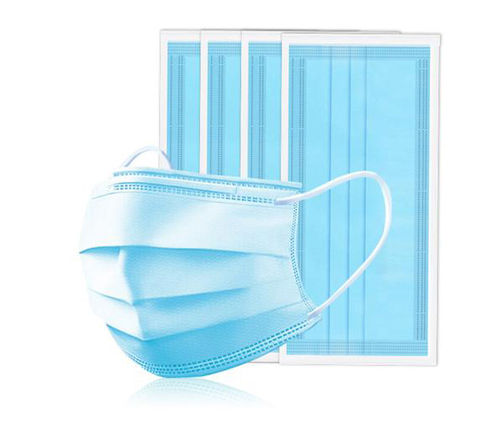 Low Cost Disposable Face Mask Triple Layer -50 pack -non medical