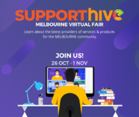 Melbourne Virtual Fair - Support Hive